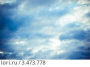 Облака в небе. Стоковое фото, фотограф Александр Петров / Фотобанк Лори
