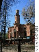 Татарская мечеть, Минск, Беларусь (2012 год). Стоковое фото, фотограф Марина Шатерова / Фотобанк Лори