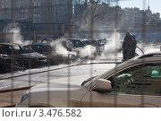 Сгоревшие машины (2012 год). Редакционное фото, фотограф Alexander Dmitriev / Фотобанк Лори