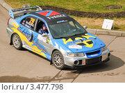 Купить «Гоночный автомобиль, Rally Masters Show 2012», эксклюзивное фото № 3477798, снято 21 апреля 2012 г. (c) Алёшина Оксана / Фотобанк Лори