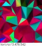 Купить «Цветной геометрический фон», иллюстрация № 3478542 (c) Владимир / Фотобанк Лори