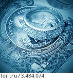 Купить «Кольцо с бриллиантами на фоне доллара», фото № 3484074, снято 4 марта 2011 г. (c) ElenArt / Фотобанк Лори
