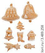 Купить «Рождественские пряники», фото № 3489258, снято 19 декабря 2011 г. (c) Jan Mikš / Фотобанк Лори