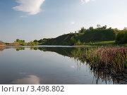 Дмитриевские сопки на реке Свапа. Стоковое фото, фотограф Эдуард Киселёв / Фотобанк Лори