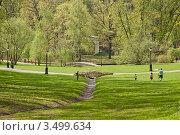 Весенний пейзаж в Царицынском парке (2012 год). Редакционное фото, фотограф Сергей Родин / Фотобанк Лори