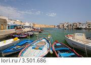 Набережная в городе Бизерте. Тунис (2012 год). Редакционное фото, фотограф Владимир Чинин / Фотобанк Лори