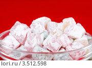 Купить «Рахат-лукум», фото № 3512598, снято 12 ноября 2011 г. (c) Воронин Владимир Сергеевич / Фотобанк Лори
