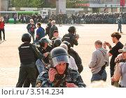 """Купить «Задержание участников """"Марша миллионов"""" в Москве 6 мая 2012 года», эксклюзивное фото № 3514234, снято 6 мая 2012 г. (c) Алёшина Оксана / Фотобанк Лори"""