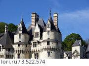 Купить «Замок Юссе (замок Спящей красавицы) во Франции», фото № 3522574, снято 7 мая 2012 г. (c) Владимир Журавлев / Фотобанк Лори