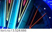 Купить «Неоновая вывеска казино», видеоролик № 3524666, снято 2 июля 2008 г. (c) Losevsky Pavel / Фотобанк Лори