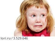 Купить «Маленькая девочка плачет», фото № 3529646, снято 29 марта 2012 г. (c) Дмитрий Калиновский / Фотобанк Лори