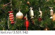 Купить «Новогодняя елка», видеоролик № 3531142, снято 28 декабря 2008 г. (c) Losevsky Pavel / Фотобанк Лори
