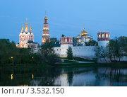 Купить «Новодевичий монастырь.Москва», эксклюзивное фото № 3532150, снято 7 мая 2012 г. (c) Литвяк Игорь / Фотобанк Лори
