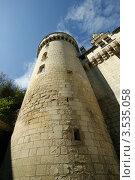 Купить «Фрагмент замка Юссе в долине Луары, Франция», фото № 3535058, снято 7 мая 2012 г. (c) Владимир Журавлев / Фотобанк Лори
