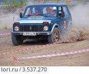 "Автогонки на ВАЗ-2121 ""Нива"" (2010 год). Редакционное фото, фотограф Евгений Ткачёв / Фотобанк Лори"
