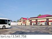 Купить «Касимов. Автовокзал», эксклюзивное фото № 3541758, снято 6 мая 2012 г. (c) Илюхина Наталья / Фотобанк Лори