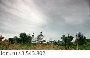 Церковь. Стоковое видео, видеограф Андрей Леонидов / Фотобанк Лори