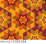 Купить «Бесшовный лоскутный фон», иллюстрация № 3559254 (c) Инна Грязнова / Фотобанк Лори