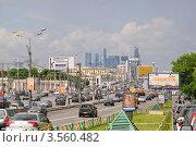 Садовое кольцо, Москва (2012 год). Редакционное фото, фотограф Алёшина Оксана / Фотобанк Лори
