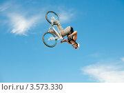 Купить «Слоуп-стайл. Тренировка прыжков», эксклюзивное фото № 3573330, снято 27 мая 2012 г. (c) Ольга Визави / Фотобанк Лори