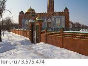 Купить «Самарская соборная мечеть», фото № 3575474, снято 10 марта 2012 г. (c) Акиньшин Владимир / Фотобанк Лори