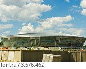 Купить «Здание нового стадиона», фото № 3576462, снято 9 марта 2008 г. (c) Прусский Андрей / Фотобанк Лори