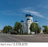 Купить «Спасо-Преображенская церковь. Шклов. Белоруссия», фото № 3578870, снято 26 мая 2012 г. (c) Виктор Пелих / Фотобанк Лори