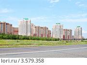 Окраина Оренбурга, новый микрорайон, фото № 3579358, снято 3 июня 2012 г. (c) Вадим Орлов / Фотобанк Лори
