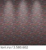 Бесшовный векторный фон в виде старой кирпичной стены. Стоковая иллюстрация, иллюстратор Олег Скударнов / Фотобанк Лори