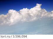 Купить «Вид на облака из окна самолета», фото № 3596094, снято 31 мая 2012 г. (c) Vitas / Фотобанк Лори