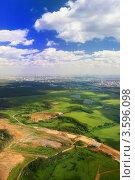 Купить «Прекрасный вид над землей», фото № 3596098, снято 9 июня 2012 г. (c) Vitas / Фотобанк Лори