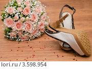 Букет невесты. Стоковое фото, фотограф Конушкина Екатерина / Фотобанк Лори