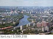 Купить «Панорама непарадной Москвы», фото № 3599318, снято 17 июня 2012 г. (c) Наталья Волкова / Фотобанк Лори