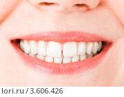 Купить «Женская улыбка», фото № 3606426, снято 21 апреля 2012 г. (c) Алексей Сергеев / Фотобанк Лори
