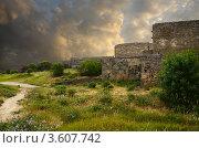 Купить «Стены старой крепости в Дербенте, Дагестан, Россия», фото № 3607742, снято 29 мая 2012 г. (c) Антон Стариков / Фотобанк Лори