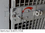 Купить «Замок в автомобиле для задержанных», эксклюзивное фото № 3611114, снято 15 мая 2012 г. (c) Free Wind / Фотобанк Лори