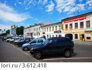 Купить «Город Муром, улица Московская летом», эксклюзивное фото № 3612418, снято 6 июня 2012 г. (c) Яков Филимонов / Фотобанк Лори