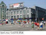 Облпотребсоюз. День города в Новосибирске (2012 год). Редакционное фото, фотограф Anna Bukharina / Фотобанк Лори