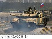 Купить «Танк Т-90С, Выставка Технологии 2012», фото № 3620842, снято 25 июня 2012 г. (c) Михеев Алексей / Фотобанк Лори