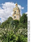 Купить «Колокольня в Новоспасском монастыре. Москва», эксклюзивное фото № 3623954, снято 18 июня 2012 г. (c) lana1501 / Фотобанк Лори