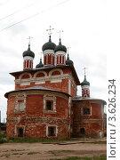 Купить «Углич. Богоявленский монастырь», эксклюзивное фото № 3626234, снято 11 июня 2012 г. (c) Дмитрий Неумоин / Фотобанк Лори