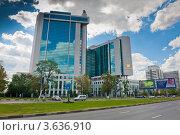 Купить «Здание центрального офиса Сбербанка России. Москва», фото № 3636910, снято 1 июля 2012 г. (c) Екатерина Овсянникова / Фотобанк Лори