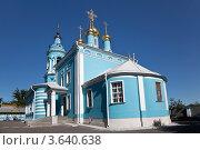Купить «Богоявленский храм в Коломне», фото № 3640638, снято 20 февраля 2012 г. (c) Наталья Волкова / Фотобанк Лори