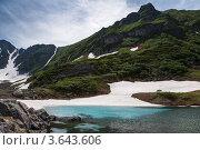 Голубые озера на Камчатке, фото № 3643606, снято 23 июня 2012 г. (c) А. А. Пирагис / Фотобанк Лори