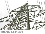 Купить «ЛЭП», эксклюзивное фото № 3644374, снято 23 июня 2012 г. (c) Алёшина Оксана / Фотобанк Лори