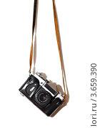 Советский пленочный фотоаппарат (2009 год). Редакционное фото, фотограф Александр Довянский / Фотобанк Лори