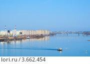 Река Волга в Нижнем Новгороде (Россия) (2011 год). Стоковое фото, фотограф Василий Фирсов / Фотобанк Лори
