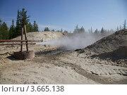 Поток газа. Стоковое фото, фотограф Андрей Минулин / Фотобанк Лори
