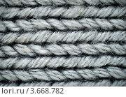 Купить «Вязание из шерстяных ниток», фото № 3668782, снято 19 октября 2011 г. (c) Степанов Григорий / Фотобанк Лори