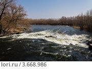 Река весной. Стоковое фото, фотограф Андрей Корж / Фотобанк Лори